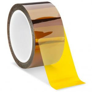 China High Temperature Silicone Adhesive Kapton Polyimide Tape PCB Masking on sale