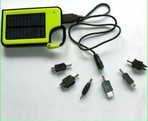 China Portable Solar Charger power Bank Solar cell phones charger for iphone/MP3/MP4/MP5/GPS/PSP on sale