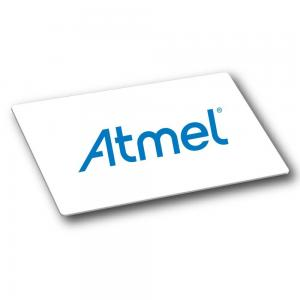 China Access Control Atmel Blank Plastic RFID Smart Card ISO14443b Protocol AT88SC6416CRF on sale