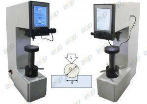 China Motorized Turret Brinell Hardness Testing Machine , Brinell Hardness Test Scale on sale