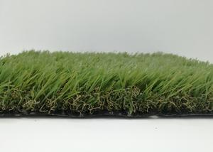 China Indoor Office Landscaping Spring Artificial Grass , Commercial Artificial Grass Synthetic Lawn Turf on sale