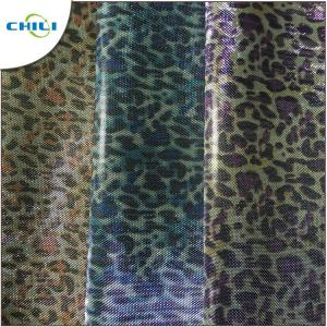 China Garment Printed Faux Leather Fabric Synthetic Vegan Attractive Look on sale