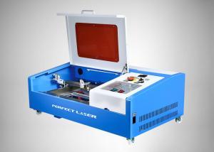 China Mini máquina de corte da gravura do laser do CO2 50w/40w, gravador do laser do Desktop on sale