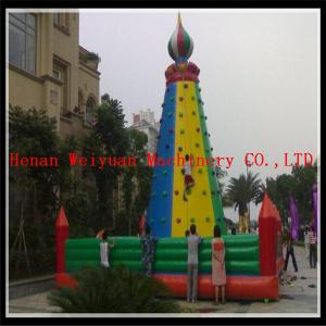 China inflatable climbing wall, inflatable rock climbing wall, inflatable climber on sale