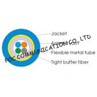 Multicore Optical Fiber Cable Armored Flexible and Suitable For Long Distance