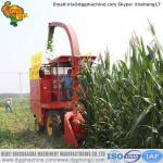 Self-propelled silage machine corn forage harvester