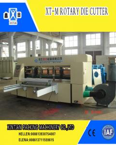 China Rotary Die Cutter Carton Manufacturing Machine High Speed on sale