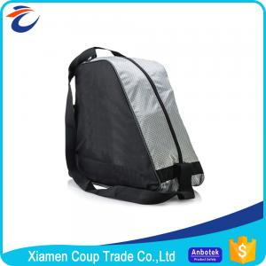 China Adjustable Shoulder Straps Ice Skate Bag / Kids Roller Skate Bag Independent Pocket on sale