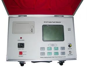 China LCD Screen Power Cable Fault Finder Ground Fault Locator Equipment Accurate Data on sale