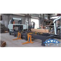 China Automatic Hydraulic Horizontal Band Sawmill on sale
