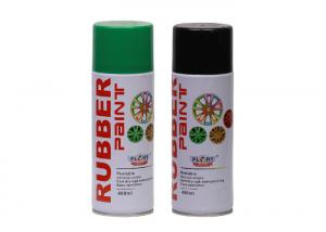 China Glossy / Matte Plasti Dip Spray Paint  , Rubber Coating Spray Weather Resistance on sale