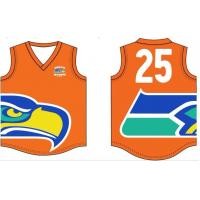 China Australia AFL Football Jerseys All Over Printing Any Colors Full Sublimation No Fading on sale