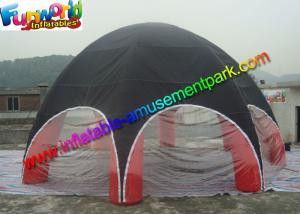 China Le PVC traité aux UV a enduit la tente gonflable extérieure en nylon de partie rouge/noir on sale