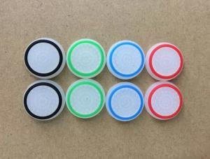 China TPU Pimple Thumb Grip Analog Stick Cover Caps Glow in Dark for PS4 PS3 XBOX ONE 360 - White on sale