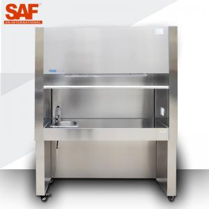 China Ventilation Laboratory Laminar Flow Hoods Ductless Fume Hood 304SS ASHRAE 110 Standard on sale