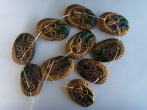 China Porcelain & Ceramic Beads on sale