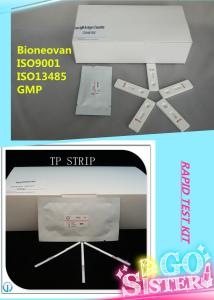 China Medical Diagnostic Rapid test kits blood grouping on sale