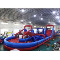 Inflatable Amusement Equipment, Inflatable Obstacle Course For Playground Games
