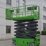 320kg Self Propelled Scissor Lift With Extension Working Platform