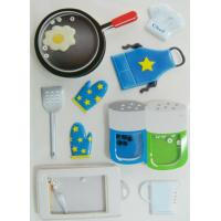 Ait Shaker Freezer Cute Sticker Sheets With Bean Printed Cooking Utensils