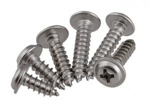 China Phillips Head Self Tapping Screws With Fixed Washer Self Tapping Washer Head Screws on sale
