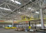 Heavy Engineering Steel Structure Construction / Modern Steel Frame Architecture
