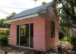EPS Sandwich Panel Roof Pink Cladding Prefab Steel House For Reception Room