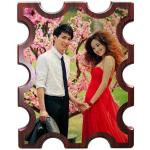 Wedding Party Blank Wooden Award Plaques With New Couples Europe Regional Feature