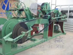 China barbed wire machine barbed wire diameter1.7-2.6mm on sale