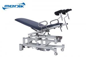 China 2 Sections Electric Gynecology Chair Height Adjustable Seat Lifting 0 - 22° on sale