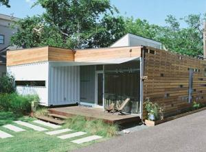 China Standard 20ft prefab container house on sale