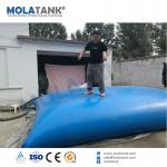 Tanques de bexiga foldible do armazenamento da água do PVC de Molatank grandes 10000 litros fabricados