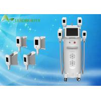 12 Inch Touch Screen Cryolipolysis Cold Body Sculpting Machine With 4 Handles