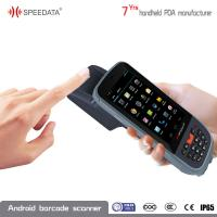 Android Handheld Fingerprint Scanner NFC Reader A7 1.3GHz Qard core