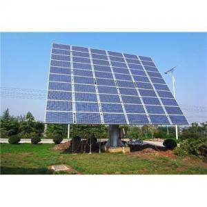 China 3KW photovoltaic panel solar pv mounting systems for flat roof solar racking system on sale