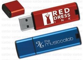 China Free Logo Printed Plastic USB Flash Memory (C-32) on sale