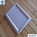 High quality silver anodized matt aluminium led poster frame