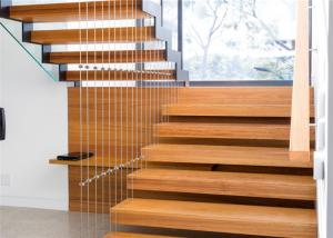 Diy Design Modern Floating Stairs Fancy Steel And Wood Staircase