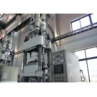 China Convenient Demolding Tyre Molding Machine With Four Column Tube Heating System on sale