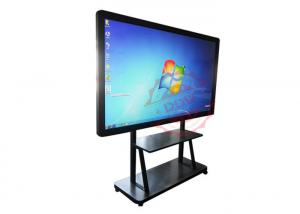 China High Resolution Digital Signage Totem / Interactive Information Kiosk Advanced Ir Touch on sale