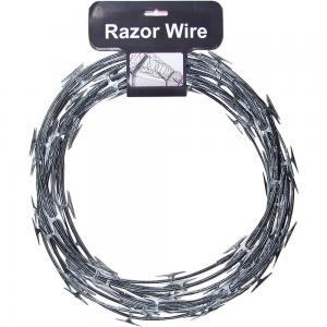 China Concertina Razor Barbed Wire Price/Hot Dipped Galvanized Razor Wire on sale