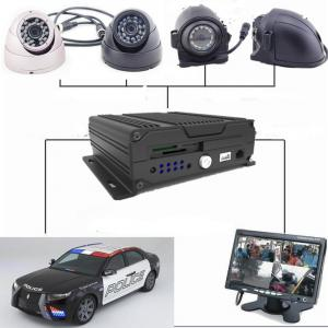 China Four - In - One Dual SD Card Mobile Vehicle DVR With 3G / 4G GPS WIFI , 1080P Resolution on sale