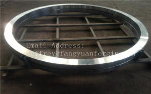 China 34CrMo4 SCM430 SCM2 4130 Alloy Steel Forgings Gear Rings Shaft Blanks  Oil Well Drill Pipe Couplings on sale