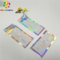 Hologram Envelop Foil Bag Aluminium Foil Pouch Self Adhesive Three Sided Seal