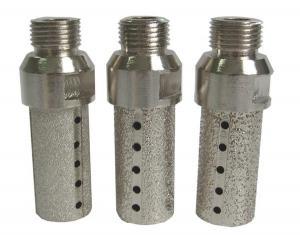 China Vacuum Brazed Diamond CNC Tooling Finger Bits Marble And Soft Stone Use on sale