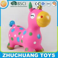 China colorful small ride on horse toy pony for kids on sale
