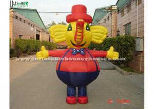 China Superior Move Custom Inflatable Advertising Model Elephant Lovely on sale