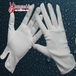 white plain gloves/formal white cotton ceremonial parade gloves
