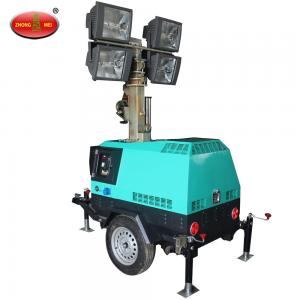 China MO-41000A Mobile Tow Behind Light Tower Generator on sale