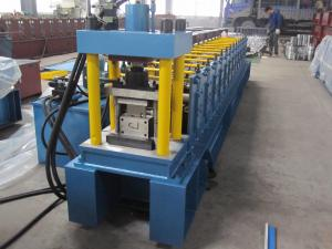 China Cold Roll 45# Steel Stud Roll Forming Machine For Metal Slat on sale